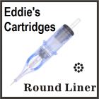 Eddie's Needle Cartridge 7RL 0.35mm Traditional Medium Liner Box of 20
