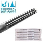 11 Round Liner Bug Pins Long Taper Needles - 5 Pack