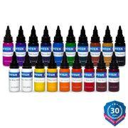 Intenze Basic 19 Color Kit- 1 oz
