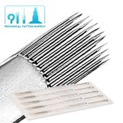 23 Curved Magnum #12 Bullet Tip Tattoo Needles - 5 Pack