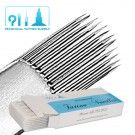 23 Curved Magnum #12 Long Taper Tattoo Needles - Box of 50