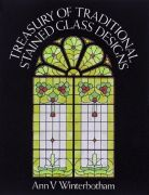Traditional Stained Glass Design Book