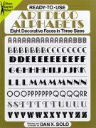 Art Deco Alphabet Book