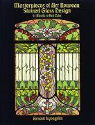 Art Nouveau Stained Glass Design