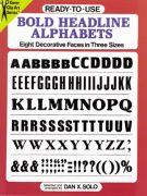 Bold Headline Alphabets