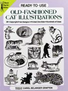 Old-Fashioned Cat Illustrations Book