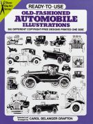 Old-Fashioned Automobile Illustrations