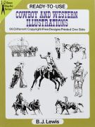 Cowboy and Western Illustrations Book