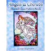 Angels & Cherubs  Stained Glass Book