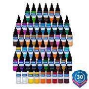Intenze 54 Color Tattoo Ink Set Kit - 1 oz