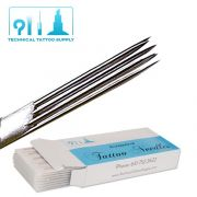7 Double Stacked Magnum Tattoo Needles - Box of 50