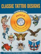 Classic Tattoo Designs book with CD