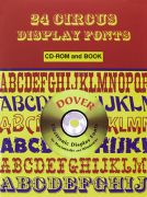 24 Circus Display Fonts with CD