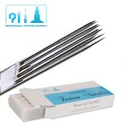 9 Double Stacked Magnum Tattoo Needles - Box of 50
