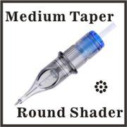 ELITE Round Shader Needle Cartridges