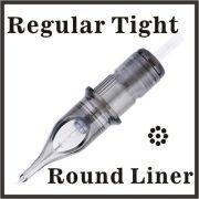 ELITE III Needle Cartridge 5 Round Liner-Regular Tight