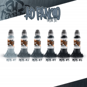 World Famous A.D. Pancho Pastel Grey Set
