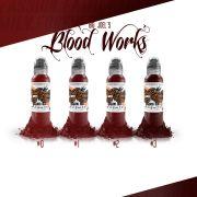 World Famous Big Joel Blood Works Color Set