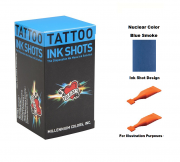 Mom's Nuclear Blue Smoke Ink Shots - Box of 30