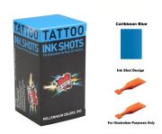 Mom's Caribbean Blue Ink Shots - Box of 30