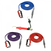 "Clip Cord Standard-1/4"" Phono Plug Black"