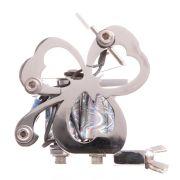 The Clover Machine Silver Metallic