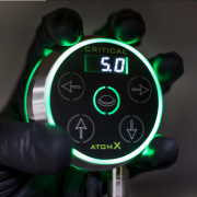 Critical Tattoo Atom X Power Supply - Silver