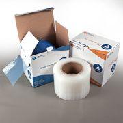 "Dynarex Barrier Film - 4"" x 6"" Blue 1200 Sheet Roll"