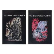 The Orient Tattoo Flash  Set of 2