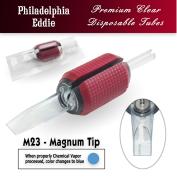 "Eddie's 23 Magnum Tip Disposable Tube - 1.25"" Soft Red Grip"