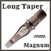 ELITE II Needle Cartridge-11 Magnum-Long Taper-Open Tip - Box of 20