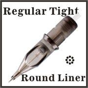 ELITE III Needle Cartridge 3 Round Liner Regular Tight