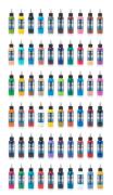 Fusion 60 Color Ink Set