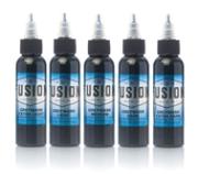 Fusion Ink 5 Shade Greywash Set
