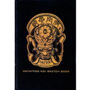 He Tattoo Koi Sketch Book