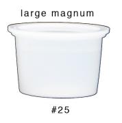#25 Large Magnum Ink Caps 1000 Pack