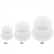 #17 Medium Ink Caps w/ Stand