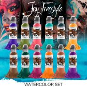 World Famous Jay Freestyle Watercolor Set