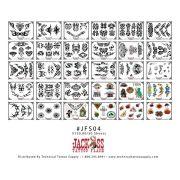 Jackass Flash Set 4 - 30 sheets