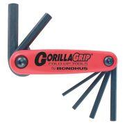 Bondhus Gorilla Grip 7-Pc Metric Wrench Set - 1.5-6mm