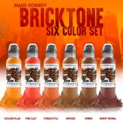 World Famous Maks Kornev's Bricktone Color Set