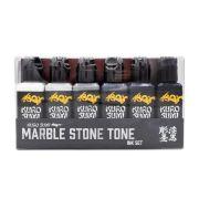 Kuro Sumi Marble Stone Set