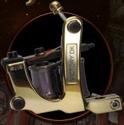 2014 Metallica Tattoo Machine- Victory DK Brass Shader