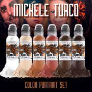 World Famous Michele Turco Color Portrait set