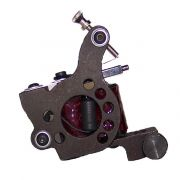 TTS: Telephone Dial Iron - Red Leather Coils