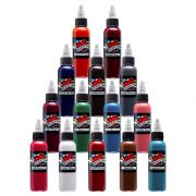 Mom's Inks 14 Bottle Primary Color Ink Set Two
