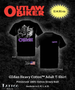 Outlaw Biker Men's and Women's T-Shirts