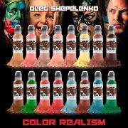 World Famous Oleg Shepelenko Realism Color Ink Set