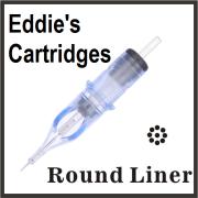 Eddie's Needle Cartridge 7RL 0.35mm Traditional Medium Liner 5 Pack