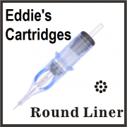 Eddie's Needle Cartridge 7RL 0.35mm Traditional Medium Liner Box of 20